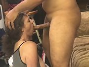 Wife's first time swallowing a mouth utter of semen