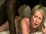 Dirty mature light-haired taken in front of husband by large black cock
