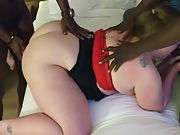 Sexy cougar eva plumbs bbc boyfriends and loves every minute of it