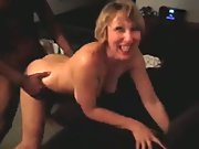 Milf is plowing good by a black fellow her hubby arranged cuckold porn