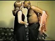 Red-haired wifey and black lover first-ever time appointment interchanging oral sex