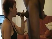 British whore milf with two very hard peckers performing on webcam