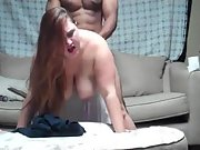Bbw amateur pulverized by new muscular black bull paramour